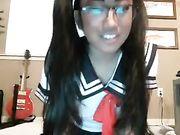 cute asian webcam