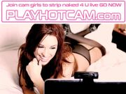 Blue Dress Blonde Hottie Chatting Up For Cyber Fun PLAY