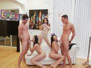 Leaked NYE orgy sex tape