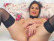 Sexy camgirl has her legs spread for you 5