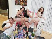 NYE fucky sucky party sex video