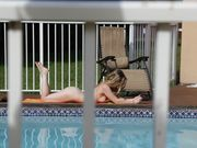 Fucking nude tanning neighbor on video