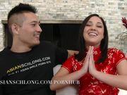 Asian Guy Fucks Latina Jeremy Long Sarai AMLF AMXF Asia