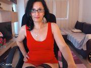 InsatiableOne - dangerous lady in red.
