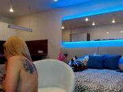 Aby_Frost + friend dildo bj