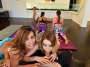 Leaked orgy during Yoga class