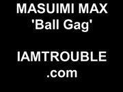 m@su1mi m@x - ball gag