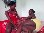 Abeke and Kelly - African Black Lesbians