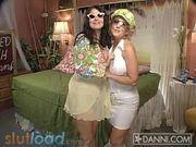 Danni Ashe - in bed with Lorna Morgan 2