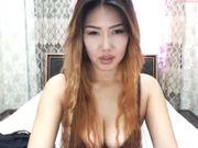 TianaWei kyrgyzstan girl strips and lush play