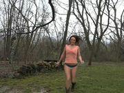 Nikki Sims - running in the rain