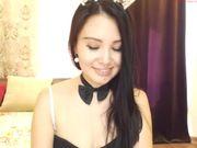 AbbyHara kyrgyz girl strip and lush fun