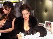 Milena Velba & Nadine Jansen @ Venus Fair Berlin 2004