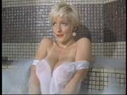 Danni Ashe - early Danni taking a bubble-bath