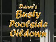 Danni Ashe - Busty Poolside Oildown