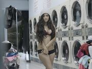 Stealing bigtit teen fucked at laundromat