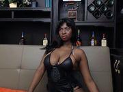 Nahomy19 - beautiful black girl in black leather