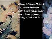 Nastasja Prinz - German hot amateur blonde gangbang