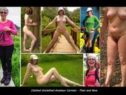 Clothed Unclothed Amateurs - Outdoors