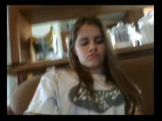 Teen enjoys fucking BBC in webcam
