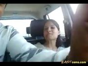 Amateur indian couple in car gets naughty 2