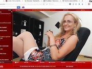 Julyblondy is a fucking whore - private webcam