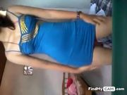 Desi lady fingering her hairy Indian pussy on livecam