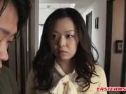Gloomy Asian gets blowjob from tutor 2