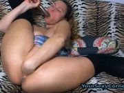 Pussy Fisting And Hard Anal Equal Waterfall Squirt