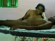 Indian chubby milf rides on her hubby cock