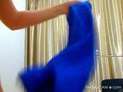 Camslut in tight spandex tease and masturbation 3