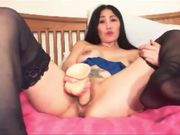 Shy Asian wife turns slut on cam