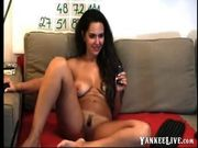 Nude amateur milf smoking and chatting on webcam 3