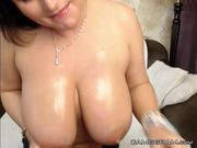 Cute Huge Natural Boobs Camgirl Awesome Webcam Show