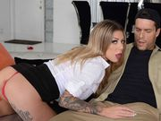 Karma RX letting her driver fuck her for revenge