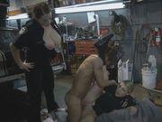 Tattooed guy drilling delicious vagina