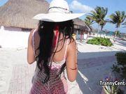 Latina sheshaft behind the scenes