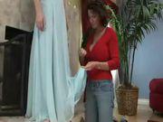 Deauxma - lesbian scene with teen