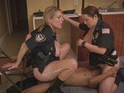 Fat booty cops please a big black cock