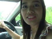 Thai Teen Car Blowjob