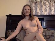 Amazing mature housewife with erotic masturbation
