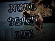 Nudist Beach Life