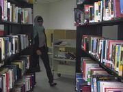 Mia Khalifa - rare library solo scene