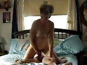 Susan Wayne of Tequesta cowgirls and fingers her clit