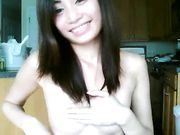Christina Nguyen showing her tits on Skype