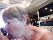 Debbie sucking off Richard