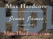 Jenna James Behind the scenes - Max Hardcore