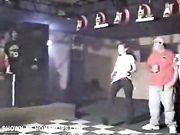 Shameless bitch wet  tshirt dance