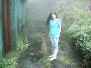 Archana Fuked Hard n Moaning in Rainy Garden