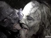 horror zombi putas